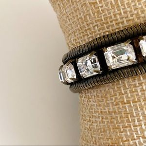 Loren Hope Jewelry - Loren Hope Clara Crystal Bracelet Oxidized Silver